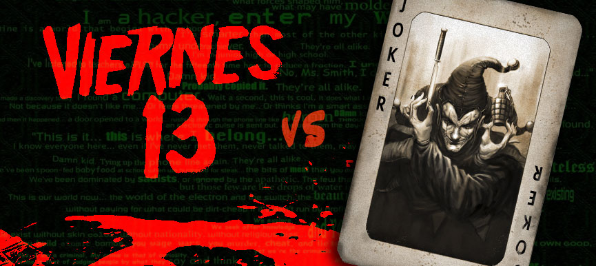 Viernes 13 vs Joker